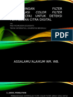 Proposal_Perbandingan Filter Interpolasi Color Filter Array (CFA)