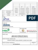Method Statement_Sheet Piling Works