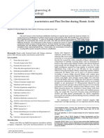 Analysis of Fouling Characteristics and Flux Decline During Humic Aciids Batch Ultrafiltration