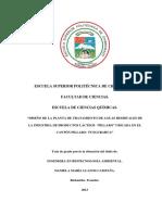"""DISEÑO DE PLANTA DE TRATAMIENTO DE AGUAS RESIDUALES DE INDUSTRIA DE PRODUCTOS LACTEOS """"PILLARO"""" –.pdf"""
