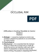 OCCLUSAL RIM.pptx