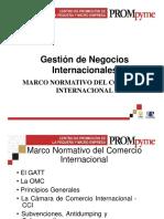 Marco Normativo Comercio Internacional
