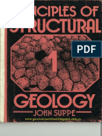 Principles of Structural Geology by John Suppe
