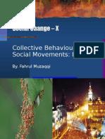 Social Change - X - Social Movement Theory I