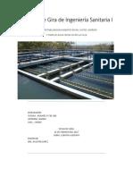 Informe de Gira de Ingeniería Sanitaria I