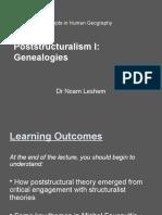Poststructuralism Genealogies