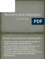 recovery and integration  1