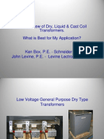IEEE Dry Liquid Cast Transformer