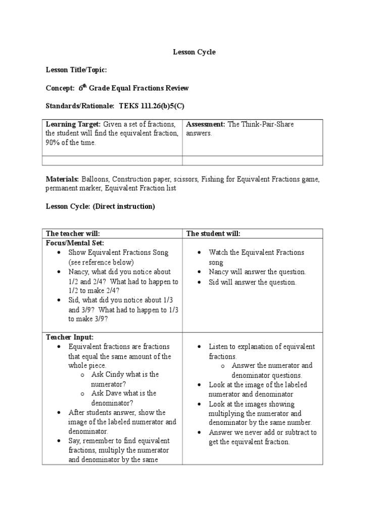 mct3 | fraction (mathematics) | pedagogy