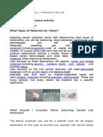 Reading Module2 Materials