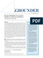 How the ACA fuel health care market consolidation.pdf