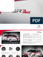 Plaquette DS3 R3-MAX 2014 Light