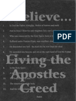 I Believe...Living the Apostles Creed