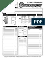 SRComp Magician Sheet