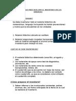 Instrucciones Inventario 2016