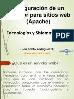 Tema 2 - Configuración de Un Servidor Para Sitios Web (Apache)