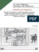 1. La Clase obrera en la historia de México