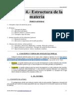 Apuntes Del Tema 4 (Estructura de La Materia)