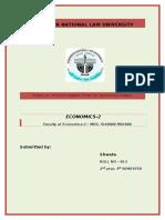 Economics 2 Final Project
