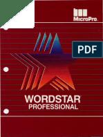 Wordstar Professional Release 4.0 1987
