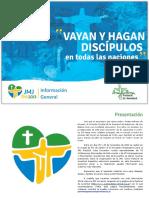 Vayan y Hagan Discipulos Material Difusion Jmj2013