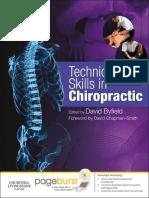 Technique Skills in Chiropractic.epub