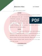 Fallo del juez federal Claudio Bonadio