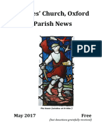 St Giles May 2017 Parish News