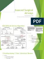 powerpoint advanced surgical airways