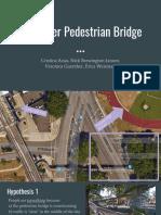 Social Observation, Ped. Bridge