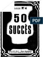 50 Succès Orchestre - Album n°4- Editions S.E.M.I.pdf