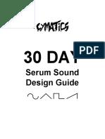 Cymatics 30DaySerumSoundDesignGuide