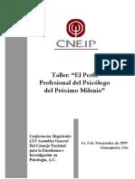 El perfil del psicologo en el nuevo milenio.pdf