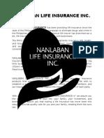 Nanlaban Life Insurance Inc