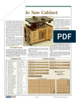 [Woodworking Plans] Table Saw Cabinet