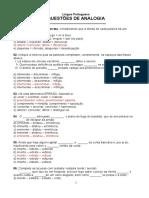 Banco de Questões de Analogia2(1)
