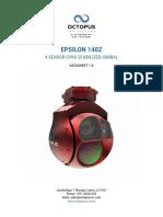 Epsilon 140z Datasheet