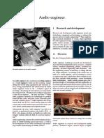 Audio Engineer - Wiki