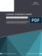Sample - Caramel Ingredients Market - Global Trends and Forecast to 2021