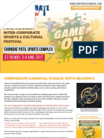 Corporate Carnival Details