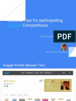 Kaggle competitions - How to win