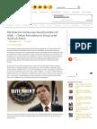 FBI Director Comey Was Board Member of HSBC – Clinton Foundation & Drug Cartel 'Bank of Choice'