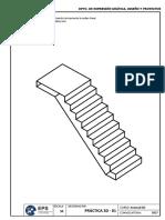 01 Práctica 01 - Escaleras Autocad