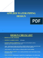 Water Pipes and Pumps