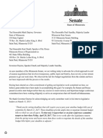 Freshman senators encourage leaders to agree to three-way budget targets