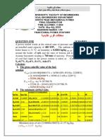 Benha University Final Examination2009 Solution