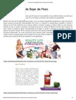 Kit Auxiliar Para de Bajar de Peso _ Problemas de Obesidad