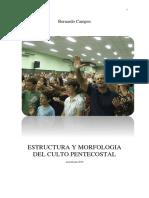 Estructura y Morfologia Del Culto Pentecostal - Bernardo Campos