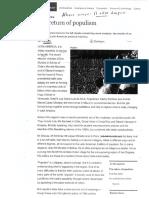 The Return of Populism - The Economist