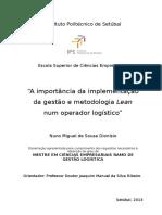 Dissertação de Mestrado_A importância da implementação da gestão e metodologia Lean num operador logistico_ Nuno Dionísio